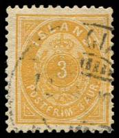 Lot 3769:1882-95 New Colours Perf 14x13½ SG #20c 3a yellowish buff, Cat £25.