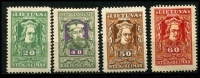 Lot 3888 [2 of 3]:1920 National Assembly Wmk tile SG #76-86 set ex 15s violet, Cat £13. (10)