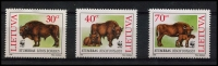 Lot 24634 [2 of 2]:1996 European Bison SG #602-5, set, on WWF pages. (4)