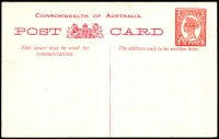 Lot 1518 [1 of 2]:1908 Fleet Card HG #16 1d, very fine fleet card, fresh unused.