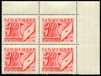 Lot 27832 [1 of 2]:1942 SG #D89-103, set of 15 in MUH blocks of 4, some with plate numbers. (15 blks)