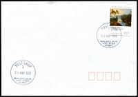 Lot 13172:Balaclava: - WWW #210 29mm 'POST SHOP/3/24MAY2013/BALACLAVA/VIC 3183/AUST', on 60c on unaddressed cover