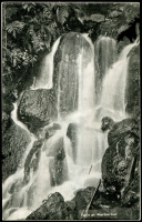 Lot 3065:Warburton (3): - Black & white PPC 'Falls at Warburton'.  PO c.1884; LPO 30/6/1998.