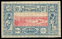 Lot 19913:1894-1902 Pictorials SG #99, 50c carmine & blue, Cat £36