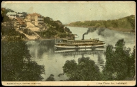 Lot 6177 [1 of 2]:Mosman's Bay: - Multicoloured PPC 'Mosman's Bay, Sydney Harbour', used in 1907 at Sydney.  Renamed from Mossman's Bay PO 1/8/1893.