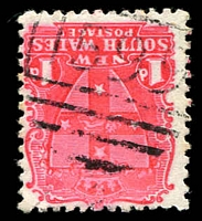 Lot 972:1599: BN on 1d Arms. [Rated 2R]  Allocated to Kyamba-TO 1/9/1861; RO 15/3/1877; PO 1/3/1891; renamed Kyeamba PO 2/4/1917.
