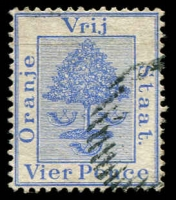 Lot 27005 [1 of 2]:1878 SG #18-9 4d pale blue & 4d ultramarine. (2)