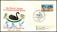 Lot 4839 [5 of 5]:1962 Commonwealth Games set of 25 Pictorial cancels for various events on illustrated covers with Gower address labels.