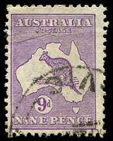Lot 1016:9d Violet [4L32] WA coast broken at western-most point
