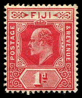 Lot 3922 [1 of 2]:1906-12 KEVII Wmk Multi Crown/CA New Colours SG #118-9 ½d & 1d, Cat £35. (2)