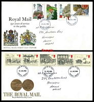 Lot 3680 [1 of 2]:1983-86 Commemorative sets, almost complete run between SG 1215 & 1355, Cat £80+ as used. (26)