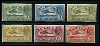 Lot 3657:1929 Air Mail SG #220-5 set, Cat £50. (6)