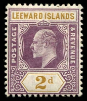 Lot 25254:1905-08 KEVII Wmk Mult Crown/CA SG #31 2d dull purple & ochre, Cat £13.