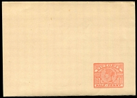 Lot 11869:1887 ½d Light Rose Stieg #KE10 on cream wire wove paper, Cat $15.
