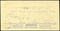 Lot 2508:Dellicknora (2): - WWW #10A 'DELLICKNORA/30MY35/VIC.', on telegram form. [Rated R]  RO 28/5/1919; PO 1/7/1923; closed 23/8/1972.