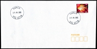 Lot 2995:Yarck: WWW #70, 2 strikes of 31mm 'YARCK/15JUL2013/VIC 3719' on 60c on unaddressed cover  PO c.-/2/1877; LPO 1/2/1994.