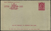 Lot 683:1957-59 4d Claret QEII BW #LC81B Admonition within in claret.
