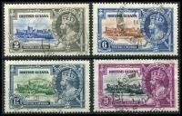 Lot 3391:1935 Jubilee SG #301-4 set, Cat £32. (4)