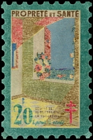 Lot 8:France 1946 Tuberculosis: 20fr 'large stamp', fair condition.