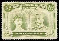 Lot 4192:1910-13 Double Heads Perf 14 SG #119 ½d yellow-green, Cat £16.