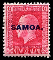 Lot 4125 [2 of 4]:1916-19 NZ KGV Opts SG #139-42 set of 4 - recess printed P14x13½, Cat £14. (4)