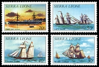 Lot 4422 [2 of 4]:1984 History of Shipping SG #820b-33b set of 13, Cat £19.