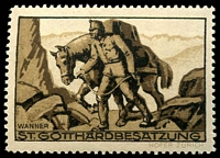 Lot 4714 [3 of 5]:1914-18 St Gotthardbesatzung sepia set of 5