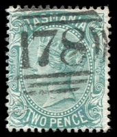 Lot 2233:178: on 2d Sideface.  Allocated to Geeves-Town-PO 1/6/1876; renamed Geeveston PO c.1888.