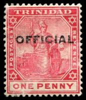 Lot 4462 [2 of 3]:1909 'OFFICIAL' Type O2: SG #O8-10 1901-06 ½d & 1d. Plus 1913 ½d, Cat £10. (3)