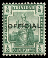 Lot 4462 [3 of 3]:1909 'OFFICIAL' Type O2: SG #O8-10 1901-06 ½d & 1d. Plus 1913 ½d, Cat £10. (3)