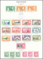 Lot 4467 [2 of 2]:1938-44 Pictorials SG #246-56 complete set incl both 12c shades and $1.20 x3 & $2.40 x3 (shades), Cat £245. Plus Coronation set. (21)