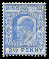 Lot 3328:1906-11 KEVII Wmk Mult Crown/CC SG #73 2½d ultramarine, Cat £27.