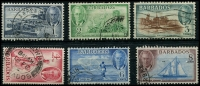 Lot 3356 [1 of 2]:1950 KGVI Pictorials SG #271-82 complete set, Cat £75. (12)