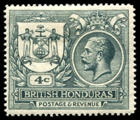 Lot 3397 [1 of 2]:1921-22 Peace SG #121,123 2c rose-red & 4c slate ('PEACE' omitted), Cat £21. (2)