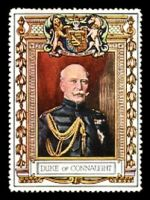 Lot 79:Great Britain: c.1916 multi-coloured label with portrait of the Duke of Connaught issued for Lord Roberts Memorial Fund.