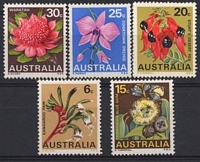 Lot 771:1968 Floral Emblems BW #483-8 set. (6)