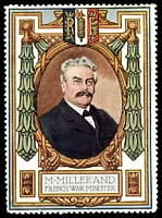 Lot 7:France: c.1916 multi-coloured label with portrait 