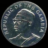 Lot 16 [2 of 2]:Gambia: 1975 10 Dalasis Anniversary of Independence Proof.