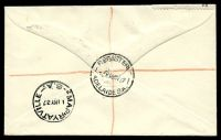 Lot 688 [2 of 2]:APO 1937 1d QE & 2d KGVI tied to Registered illustrated Post Office cover by Adelaide cds 10MY37.