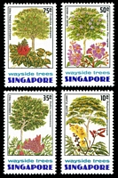 Lot 4366:1976 Trees SG #268-71 set. (4)