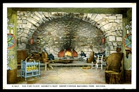 Lot 98:United States of America: multi-coloured PPC 'The Fireplace, Hermit's Rest, Grand Canyon National Park Arizona'.