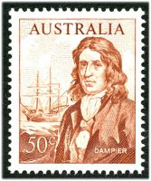 Lot 573:1966-74 Navigators BW #461 50c Dampier, Cat $15.