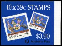 Lot 3842:1988 $3.90 Tourism BW #B158 CPL paper.