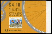 Lot 3860:1989 $4.10 Cycling BW #B166