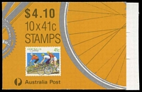 Lot 808:1989 $4.10 Cycling BW #B166