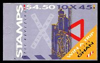 Lot 3893:1993 Trains BW #B190 $4.50, Cat $12.