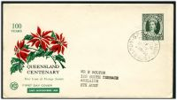 Lot 1068:WCS 1960 Queensland Stamp Centenary 5d tied to illustrated FDC by Adelaide cds 2NOV60.