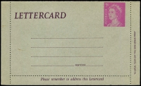 Lot 1000:1966-80 QEII Decimal BW #LC92 7c mauve '.....is required', unused.