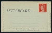 Lot 3925:1966-80 QEII Decimal ASC #L61 4c red, cream within.