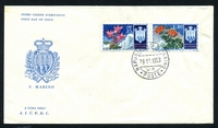 Lot 24757 [2 of 5]:1953 Flowers set on five illustrated FDCs, unaddressed.